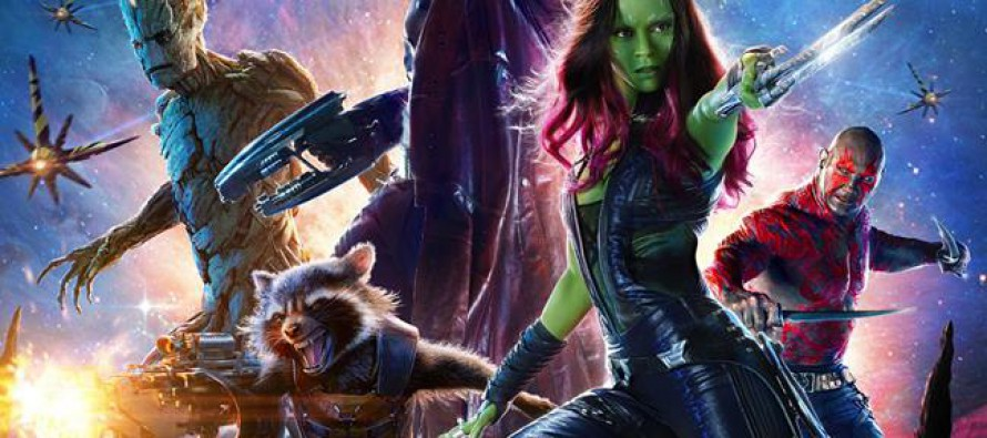 Espectacular poster de Guardians of the Galaxy