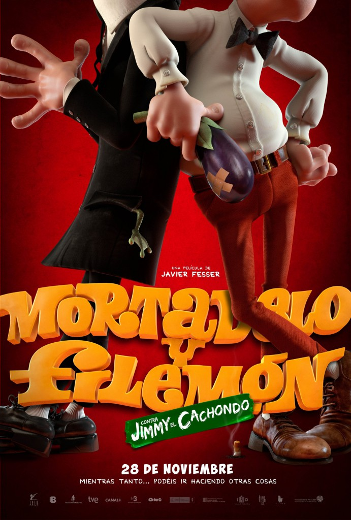 mortadelo y filemon poster