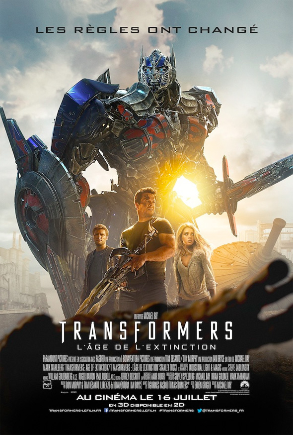 poster frances transformers 4