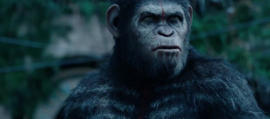 Tráiler final para Dawn of the Planet of the Apes