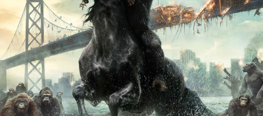 Nuevo épico poster para Dawn of the Planet of the Apes