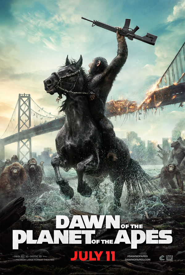 dawn planet apes new poster