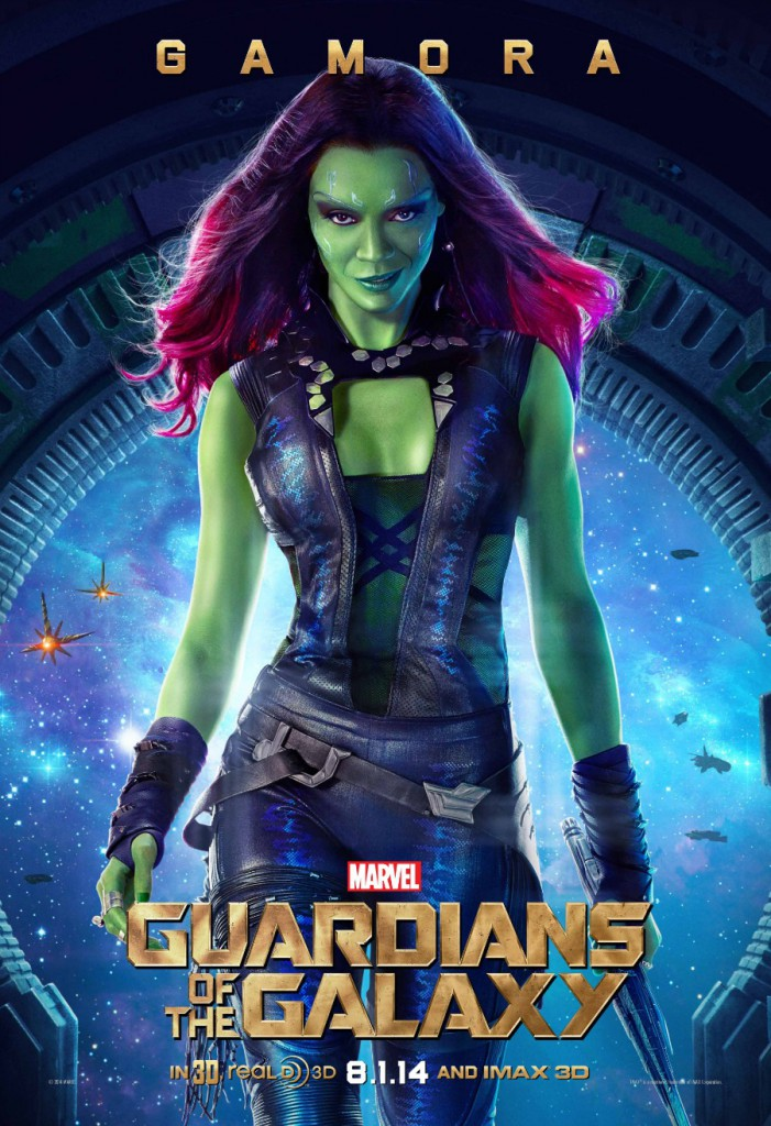 guardians gamora