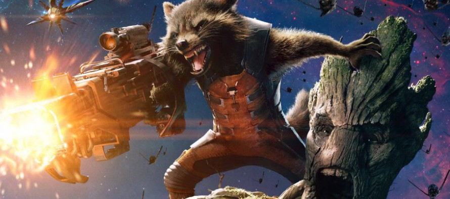 Posters de personajes de Guardians of the Galaxy