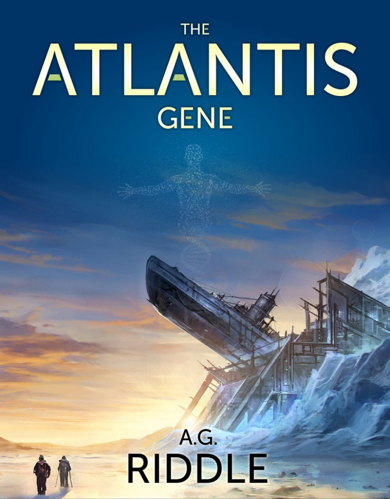 the atlantis gene portada