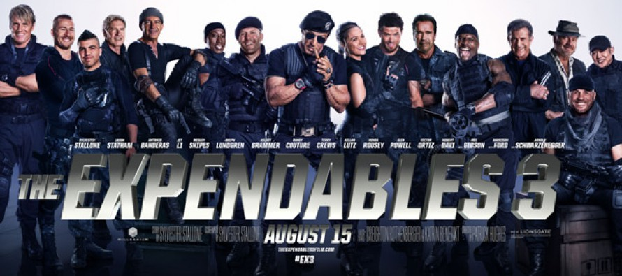 Tráiler para The Expendables 3