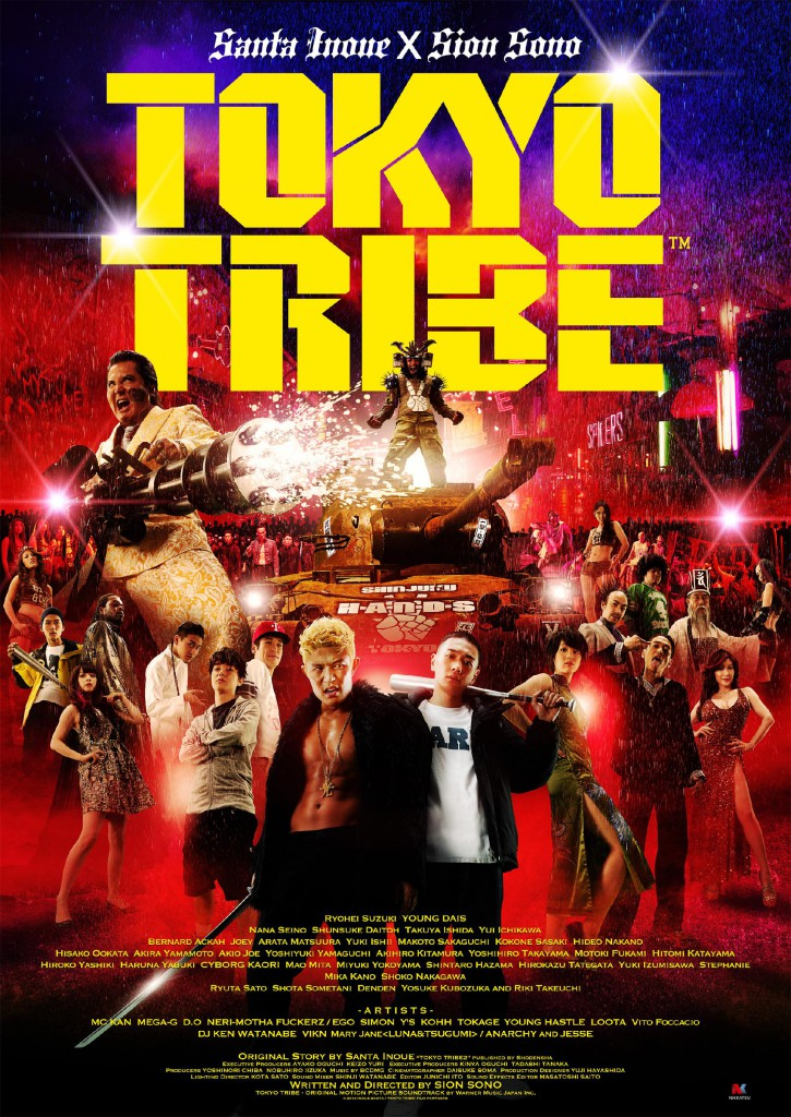 tokyo tribe poster 1