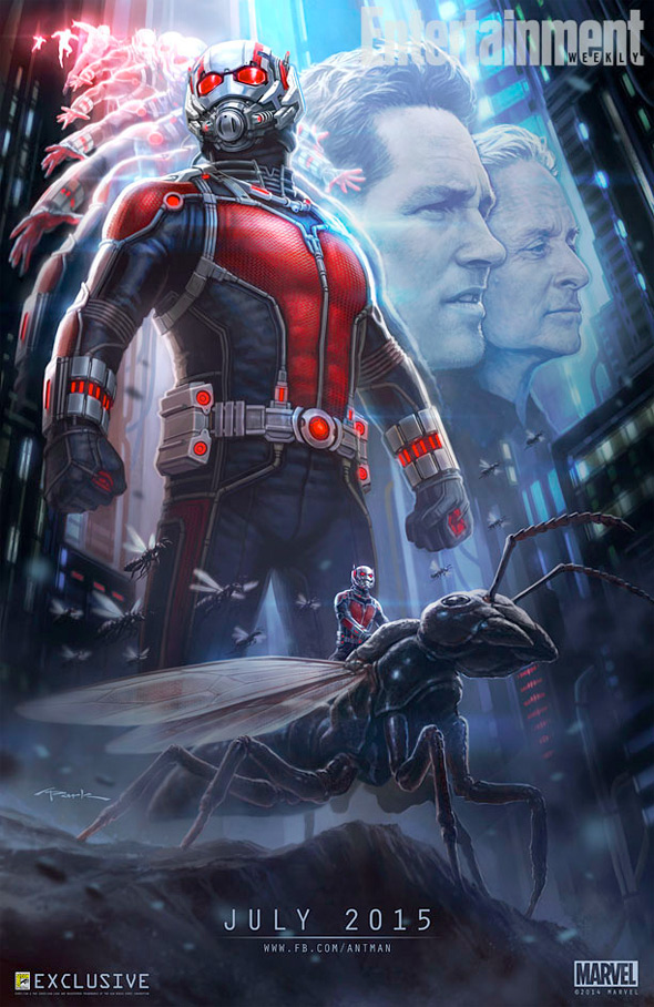 comic con poster art ant-man
