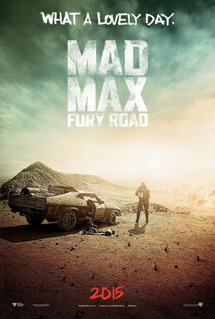 mad max fury road primer poster