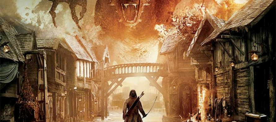 Épico poster para The Hobbit: The Battle of the Five Armies