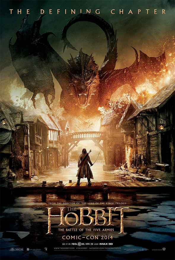 the hobbit 3 poster smaug
