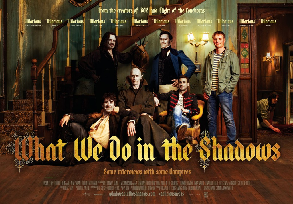 What We Do in the Shadows poster banner