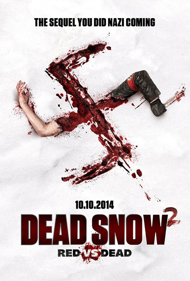 dead snow 2 new poster