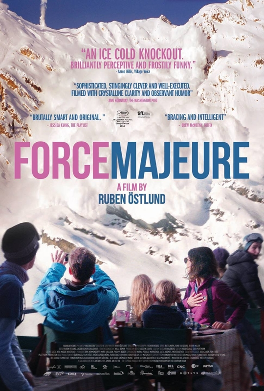 force majoure poster