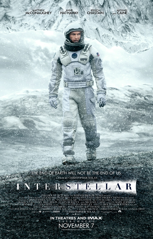 interstellar mcconaughey poster