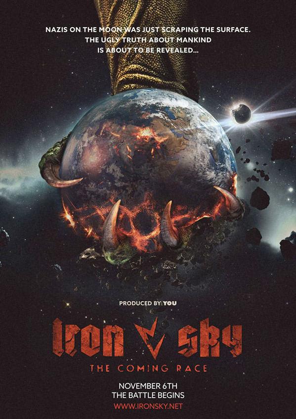 iron sky coming race poster
