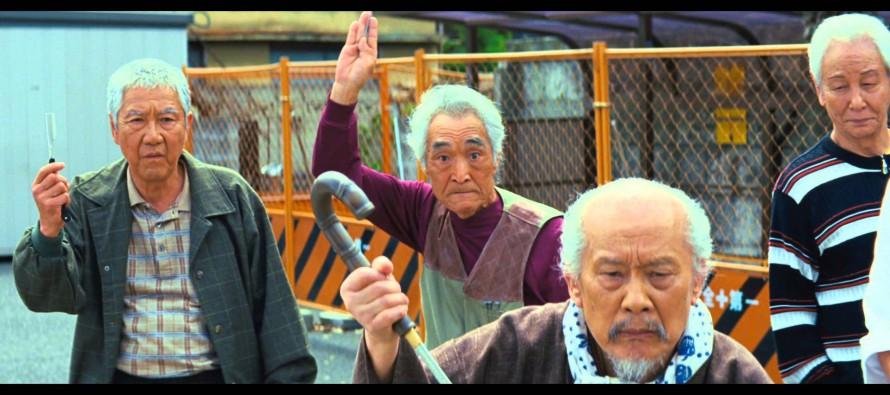 Teaser para Ryuzo 7, lo nuevo de Kitano