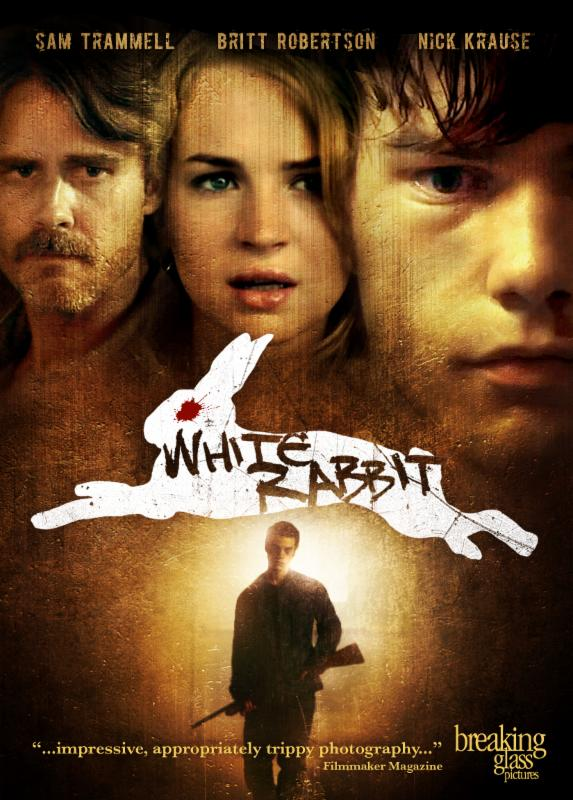 white rabbit poster 1