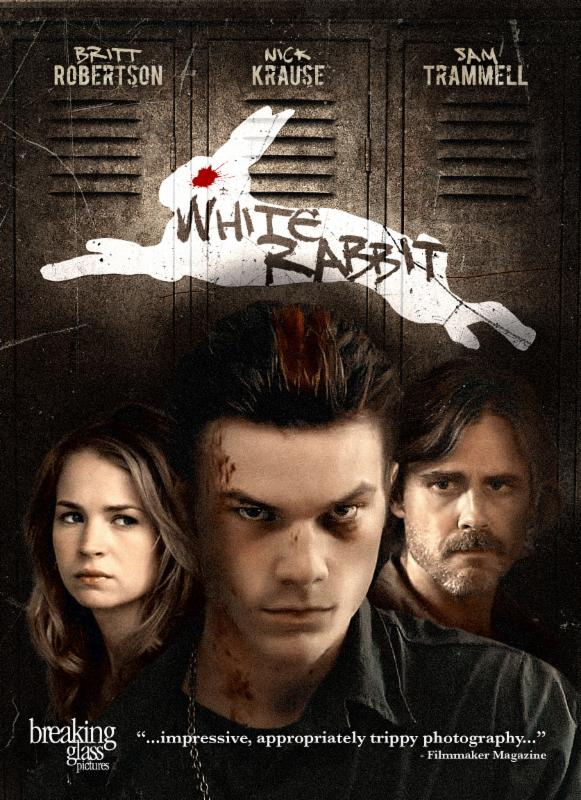 white rabbit poster 2