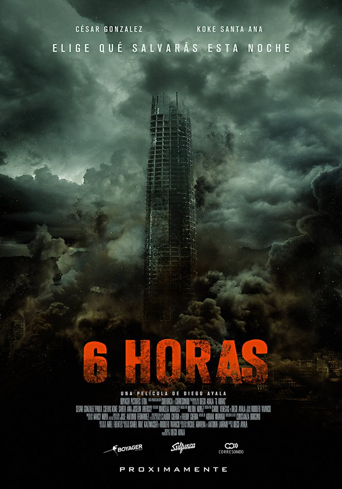 6 horas poster