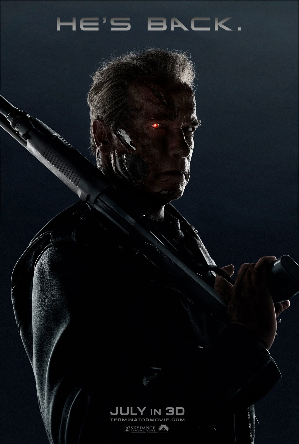 terminator genisys arnold poster