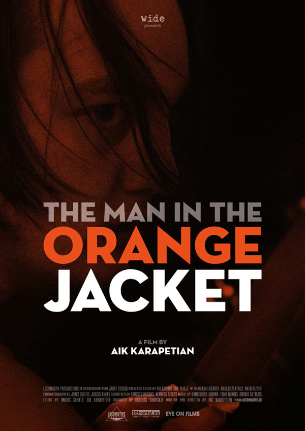 the man in the orange jacket poster 2