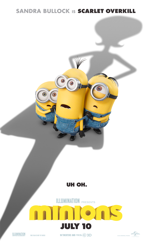 minions teaser poster