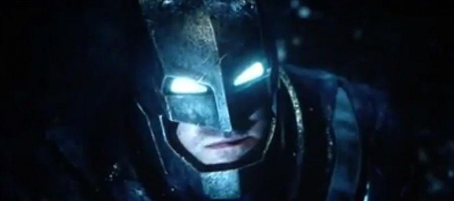 Primer teaser tráiler de Batman v Superman: Dawn of Justice