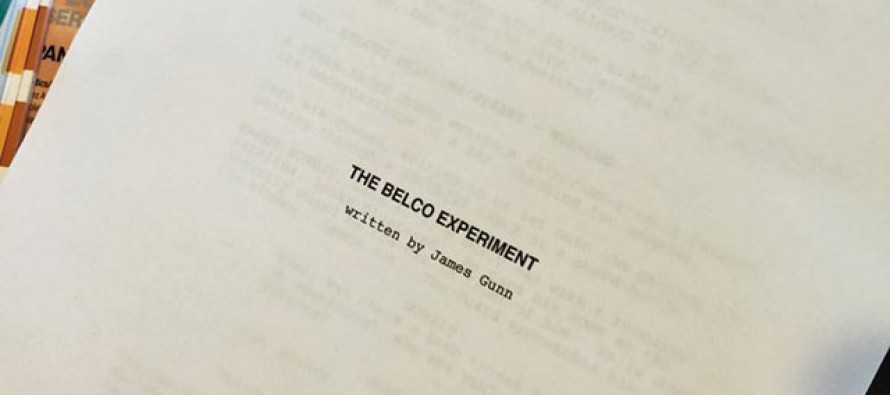 James Gunn escribe The Belco Experiment para Greg McLean
