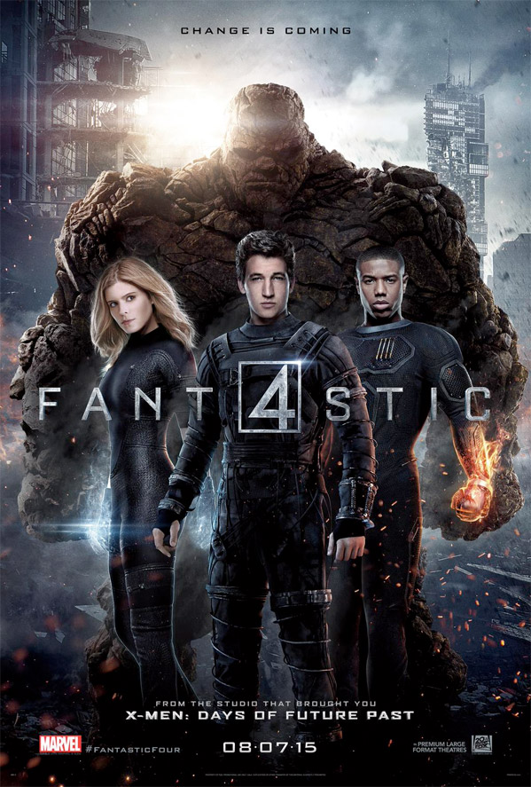 fantastic four poster new