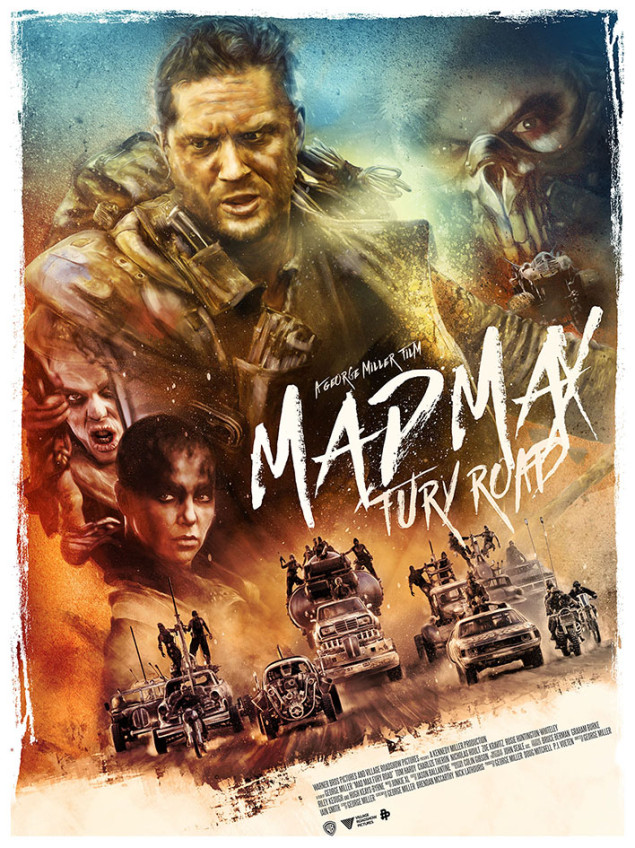 mad max furia poster
