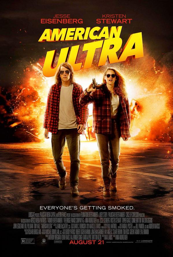 american ultra trailer poster
