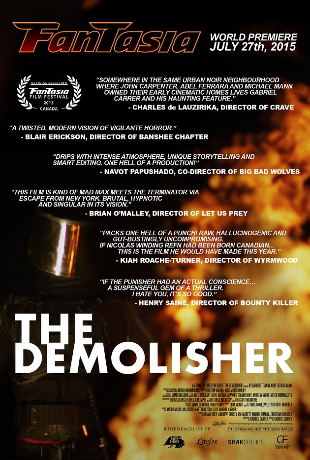 the demolisher poster 2