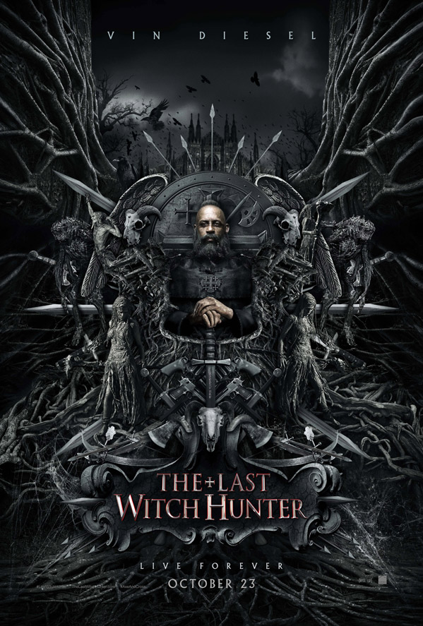 the last witch hunter poster 2