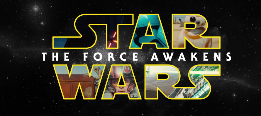 Posters de personajes de Star Wars: The Force Awakens