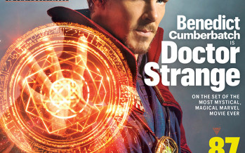 Fantástica portada de Entertainment con Doctor Strange