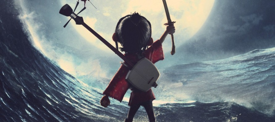 Teaser poster para Kubo and the Two Strings