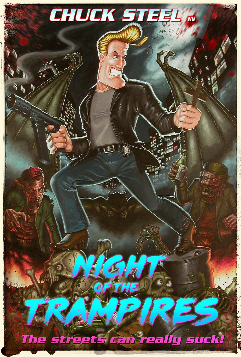 Night of the Trampires poster