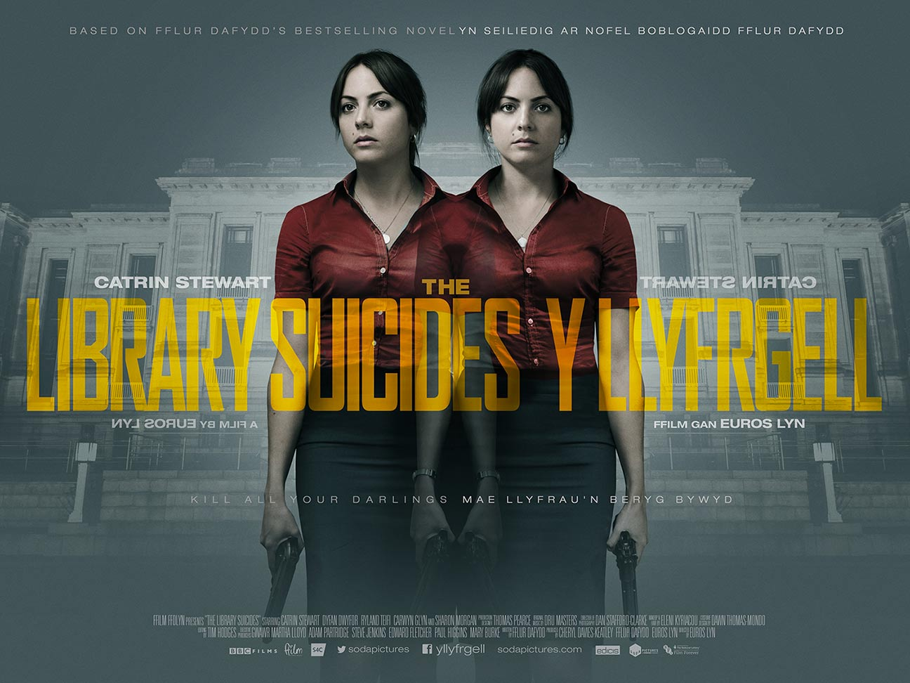 library suicides poster