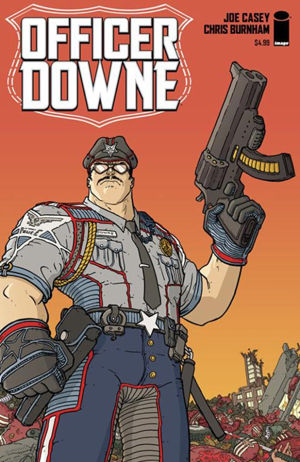 officer downe comic