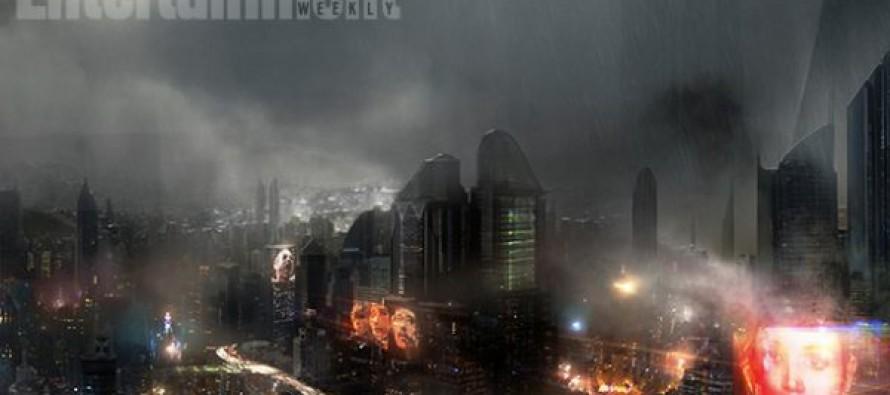 Arte conceptual para Blade Runner 2