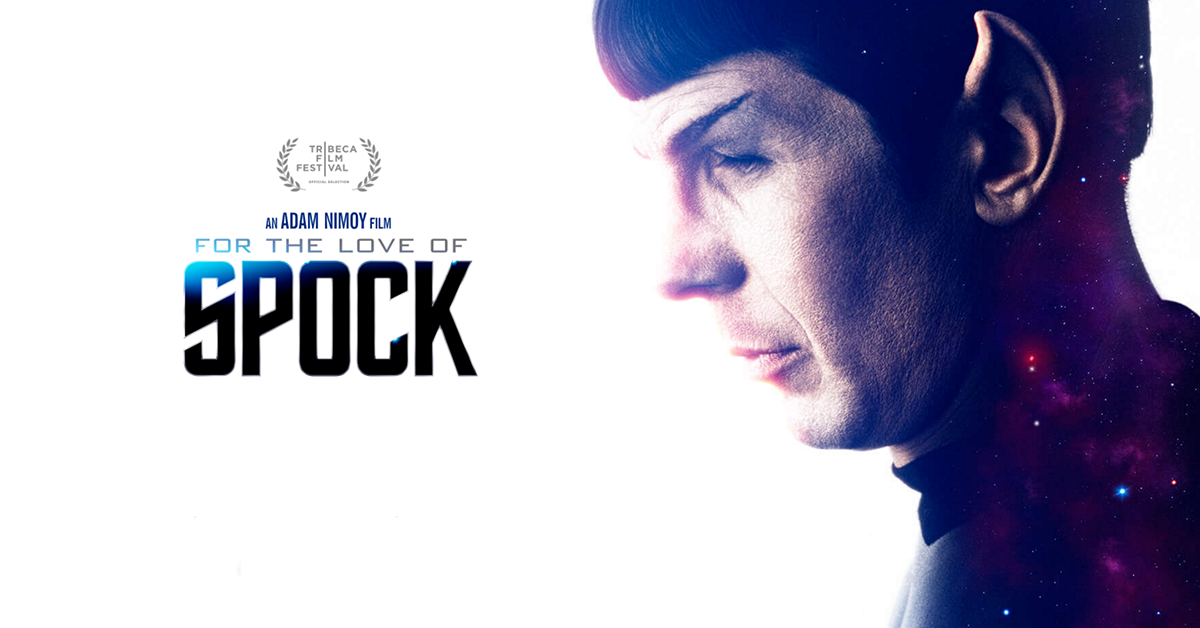 for the love of spock poster 1