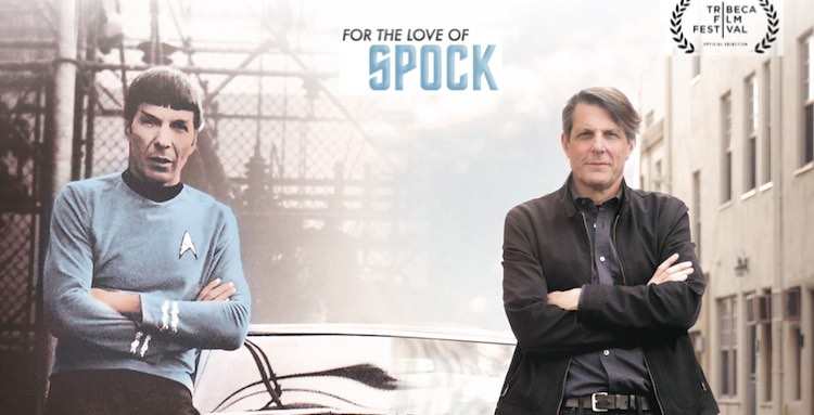 for the love of spock poster 2