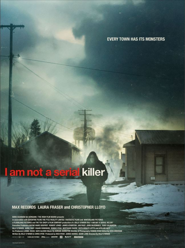 i am not a serial killer poster 1
