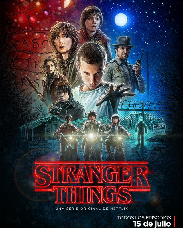 stranger things poster 2