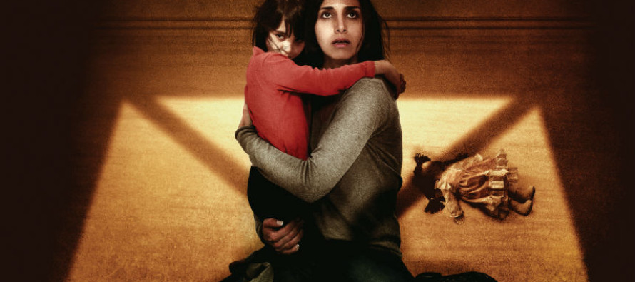 Poster para la promesa de terror Under the Shadow