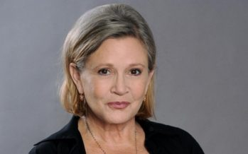 Carrie Fisher nos ha dejado