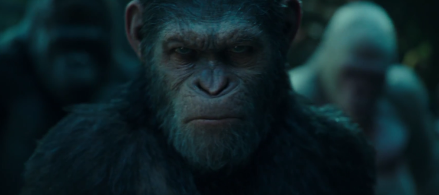 Tráiler para War for the Planet of the Apes