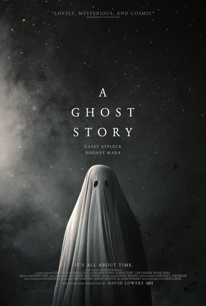 a ghost history poster