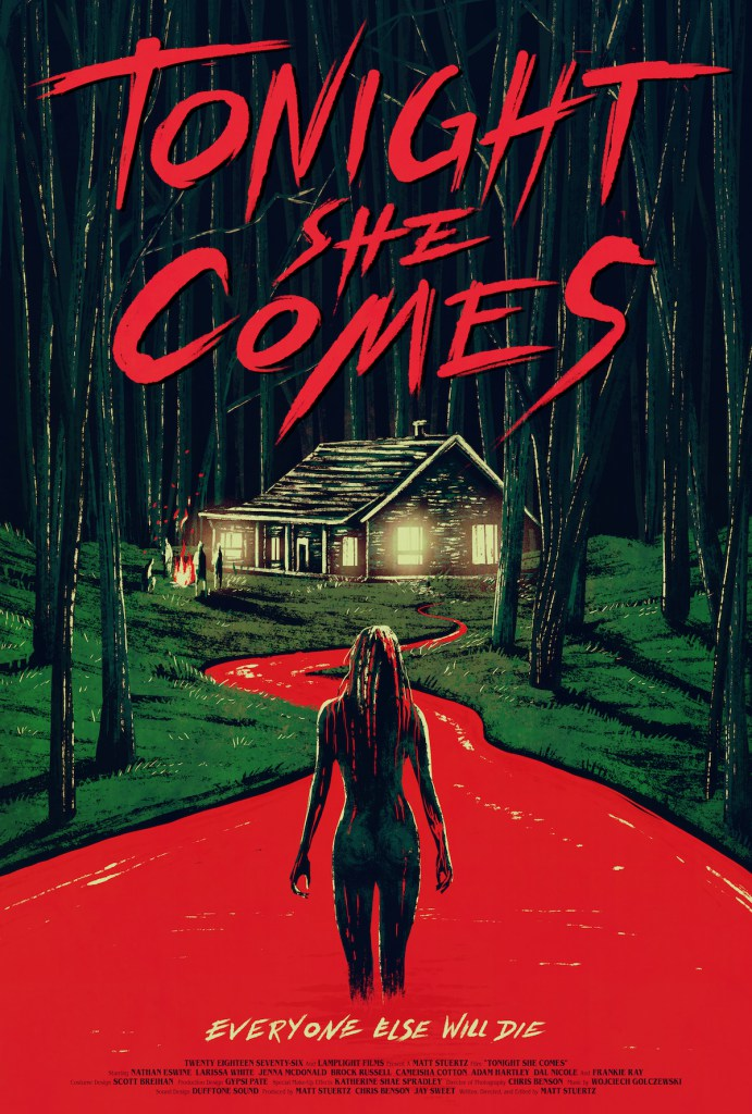 tonight she comes poster